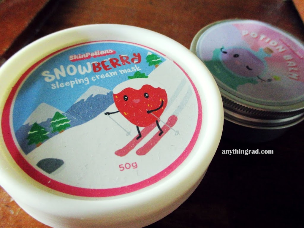 Skinpotions Snowberry Sleeping Cream Mask Review