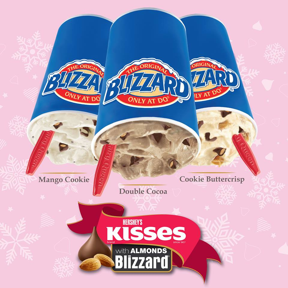 Limited Edition Dairy Queen Blizzards This Holiday Season