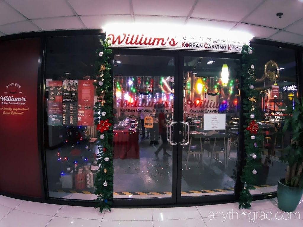 Unli Korean Food at Willium's Korean Carving Kitchen