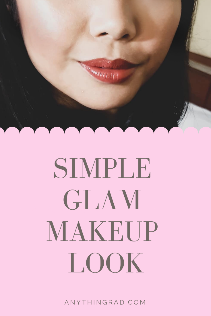 Simple Glam Makeup Look Pin