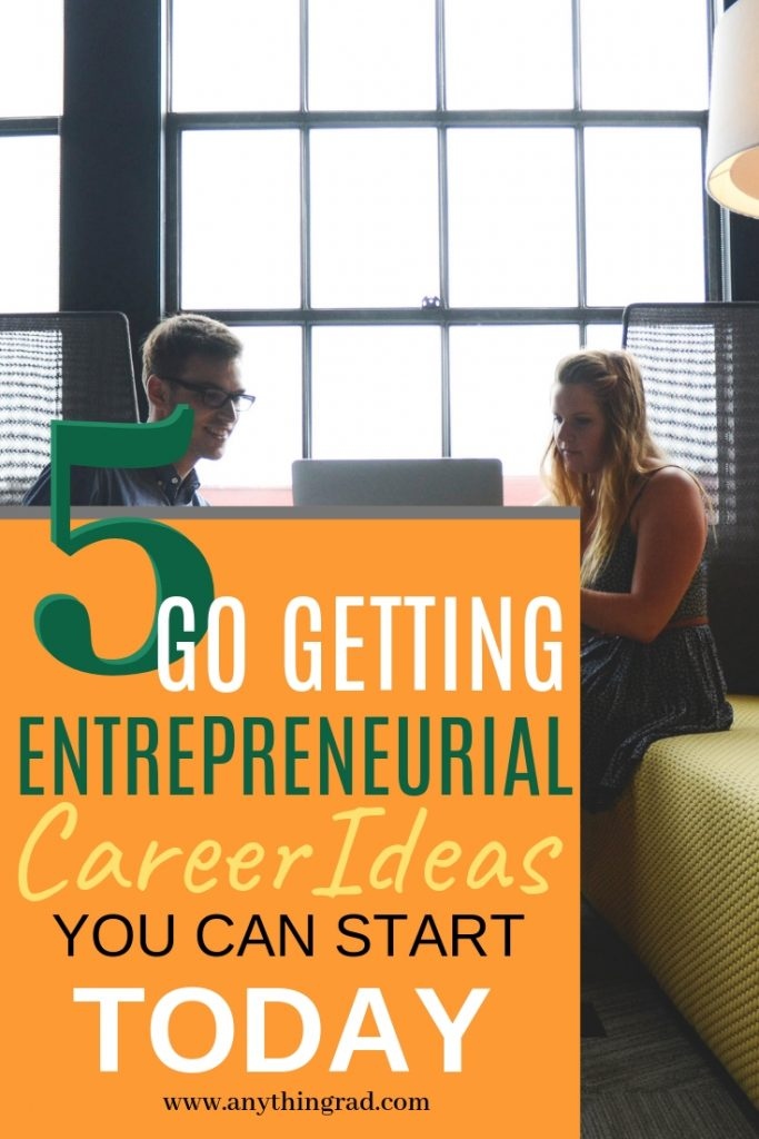 Pin it for later: Entrepreneurial Career Ideas