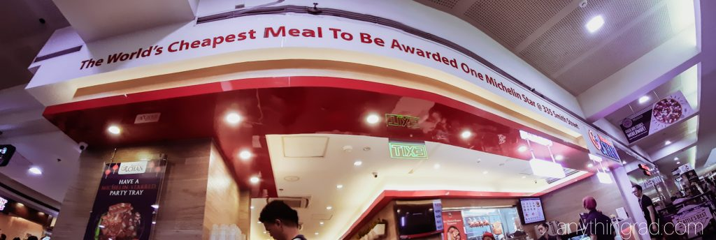Hawk Cher SM North EDSA - The World's Cheapest Meal to be Awarded One Michelin Star at 335 Smith Street