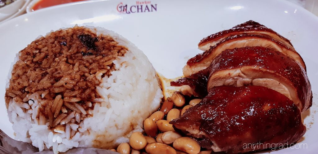 Hawker Chan SM North Soya Sauce Chicken Rice
