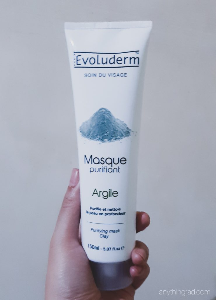 Evoluderm Purifying Clay Mask (Soin du visage masque purifiant argile)