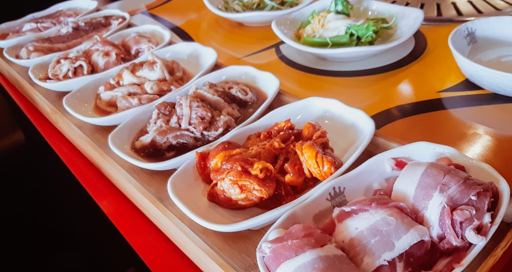 Golden Baboy Korean Grill Samgyupsal Meat Variants (Pork and Beef)