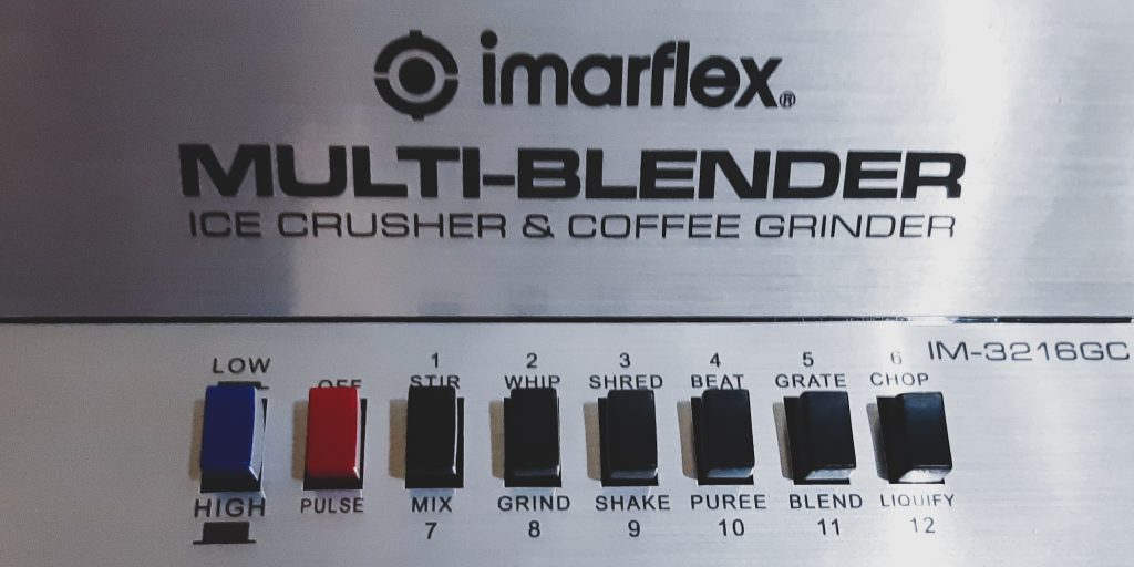 12 Speed Setting Imarflex Multi-Blender