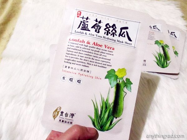 LOVEMORE Loofah and Aloe Vera Hydrating Mask Sheet REVIEW