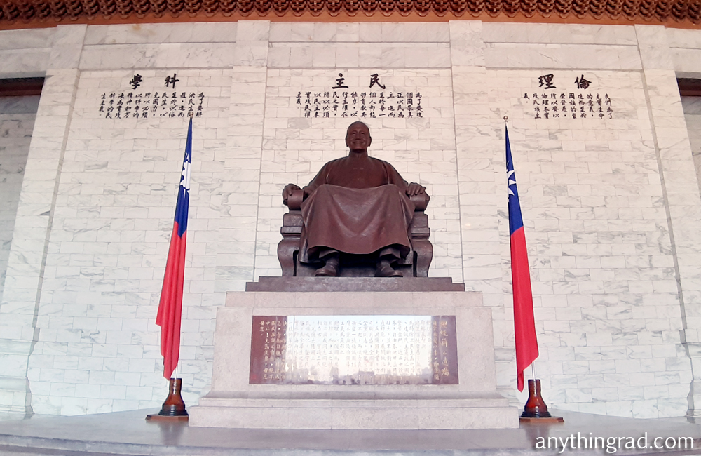 Chiang Kai Shek Memorial Hall Statue