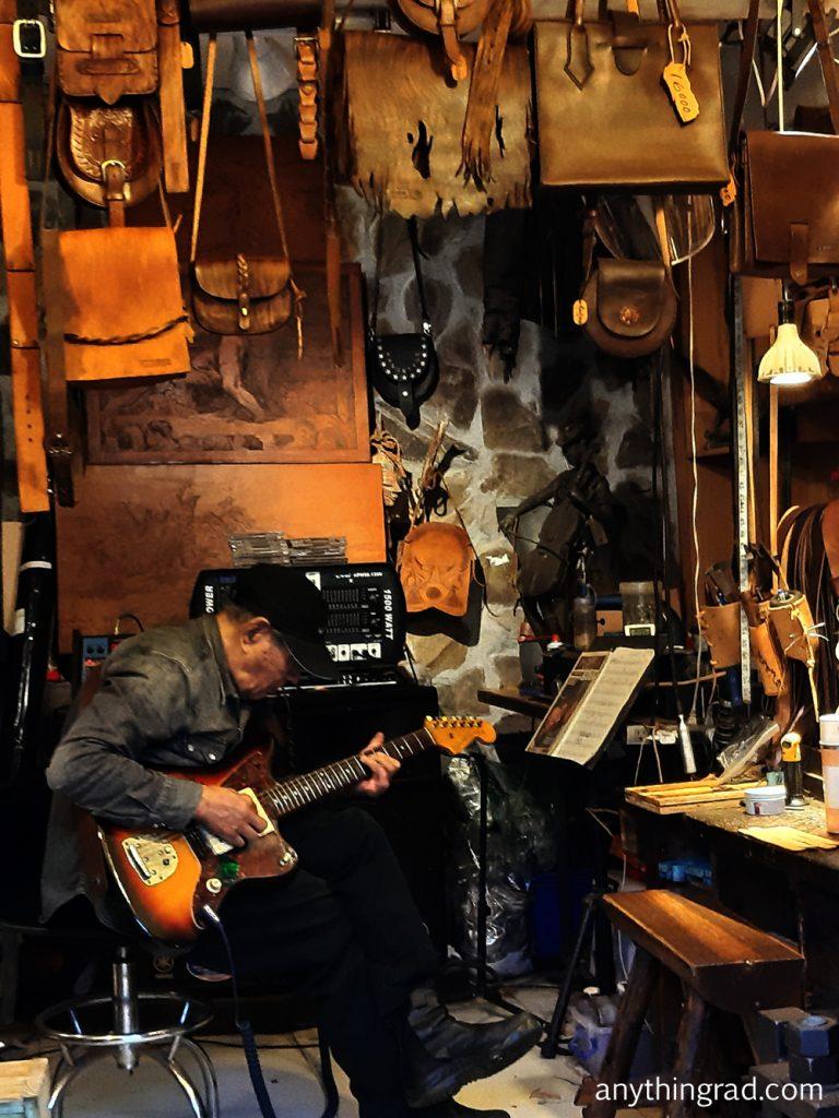 Jiufen Jazz Music Guitarist