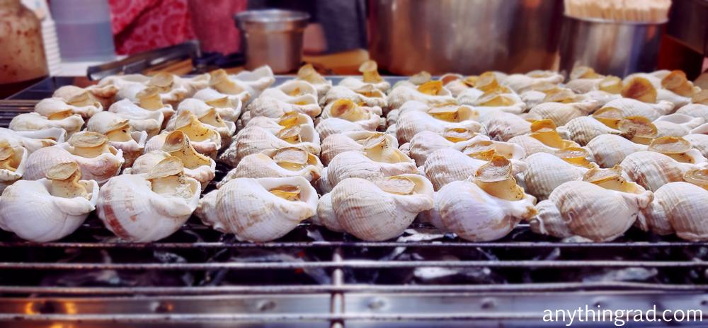 Jiufen Grilled sea snails