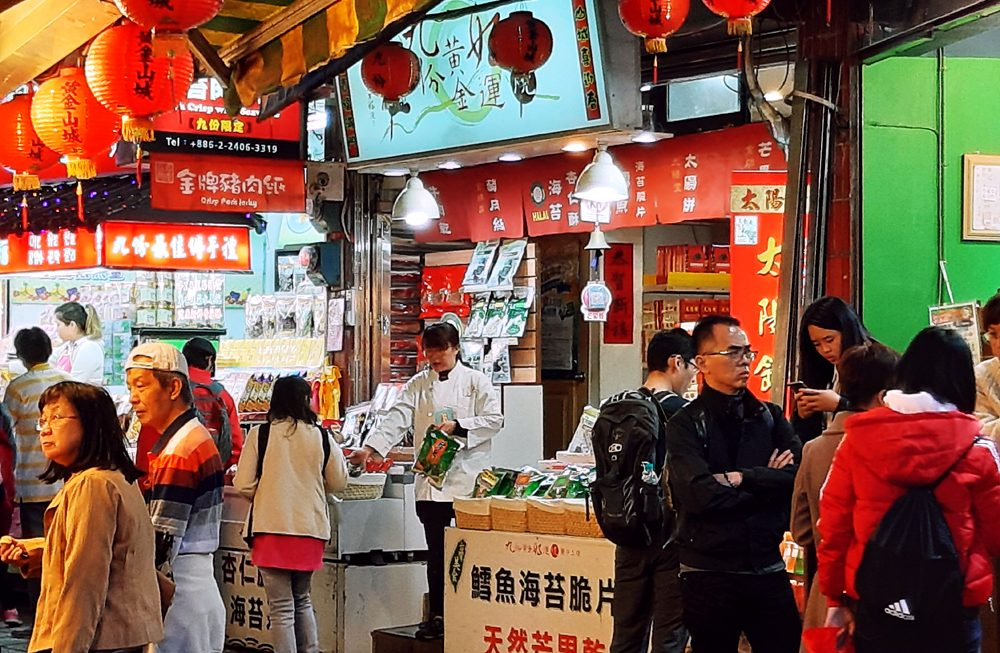 jiufen taiwan spirited away old street