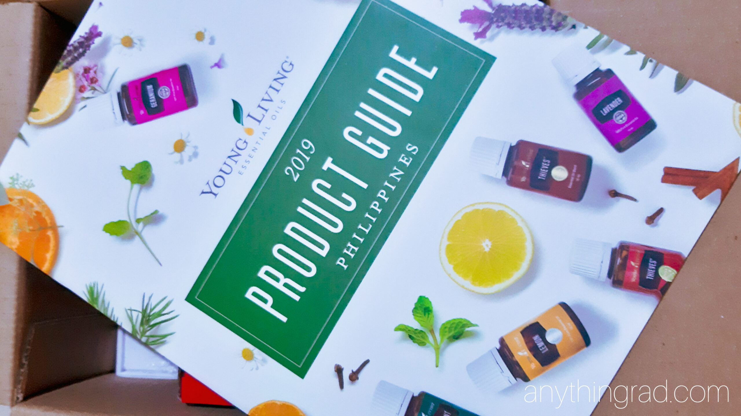 Product Guide inside PSK Young Living Philippines